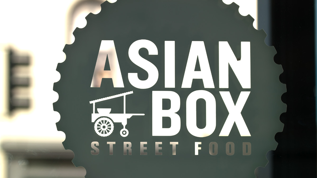 Asian Box Street Food in San Francisco, California.